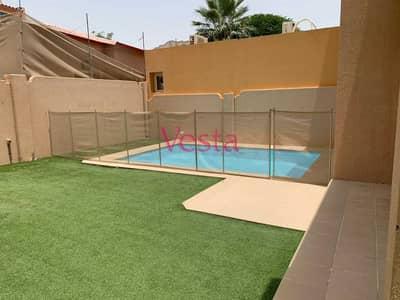 5 Bedroom Villa for Rent in Al Reef, Abu Dhabi - garden