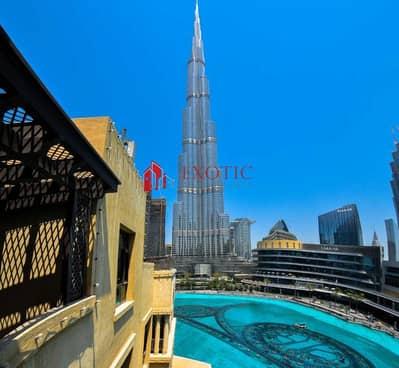 فلیٹ 3 غرف نوم للبيع في وسط مدينة دبي، دبي - 3 Bedroom || Fountain & Burj Khalifa View