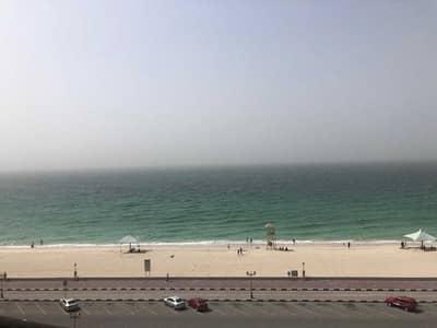 2 Bedroom Apartment for Sale in Corniche Ajman, Ajman - Super Sea View