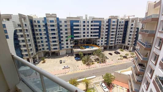 1 Bedroom Apartment for Rent in Dubai Silicon Oasis, Dubai - Well Maintained 1 BHK University View with Balcony