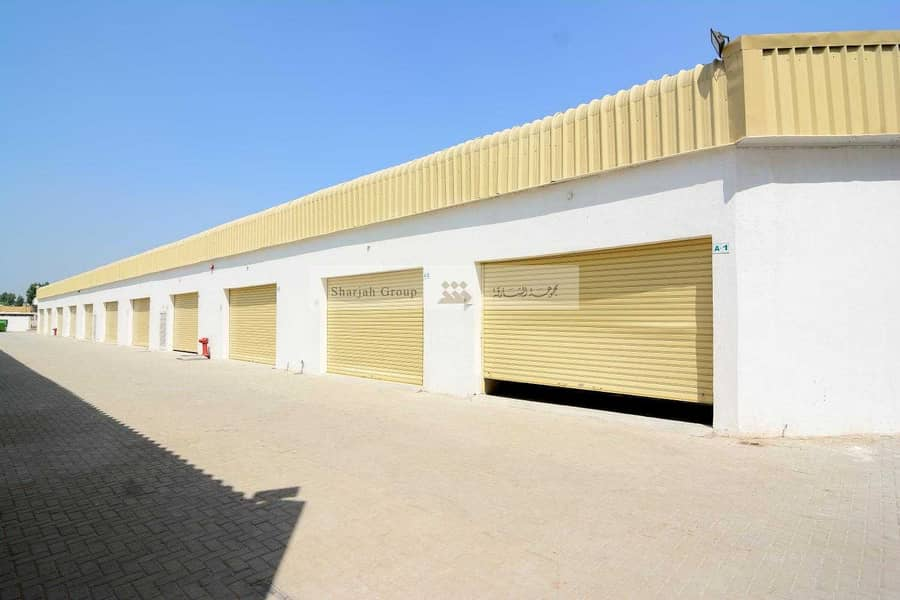 New and Spacious Warehouse for Rent in Ind. area 10