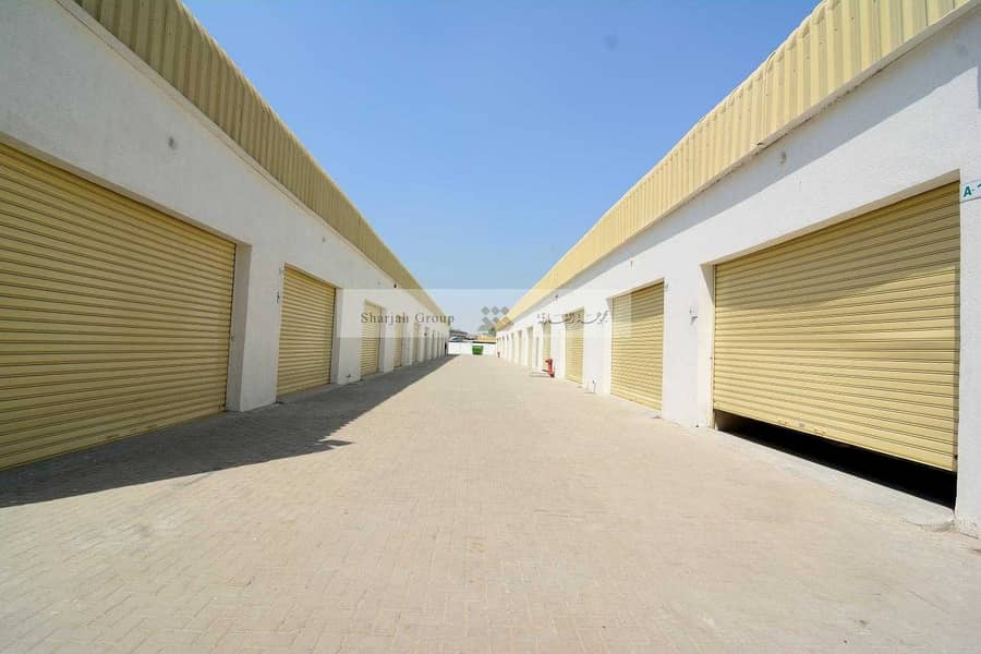 2 New and Spacious Warehouse for Rent in Ind. area 10