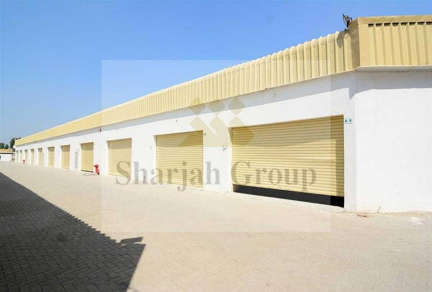 6 GREAT OFFER! NEW Warehouse for Rent in Ind Area 10