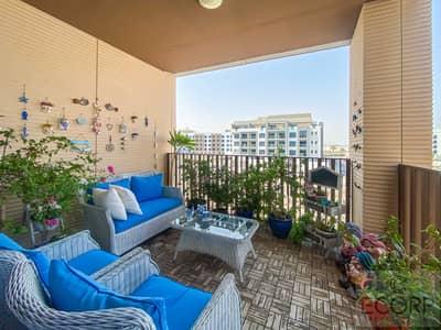 شقة 2 غرفة نوم للبيع في قرية جميرا الدائرية، دبي - LARGE 2BR+M   CORNER UNIT   FULLY FURNISHED