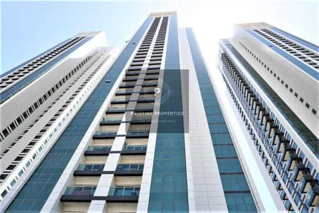 1 Bedroom Apartment for Rent in Al Reem Island, Abu Dhabi - Spacious Apartment  Sea View  With Balcony