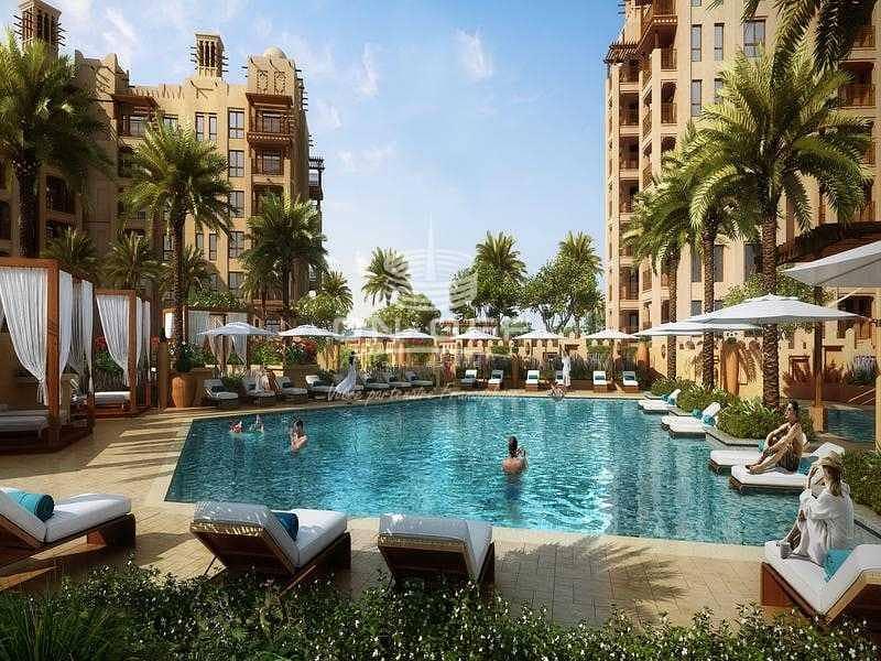 Unique 3 Beds with full Burj al arab view and unique Terrace