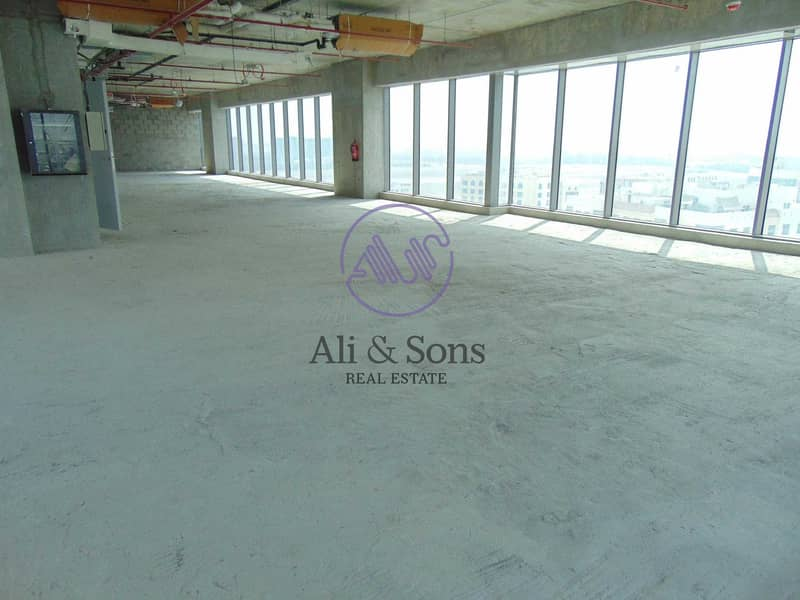 2 Huge brand new shell and core office for rent direct from the landlord
