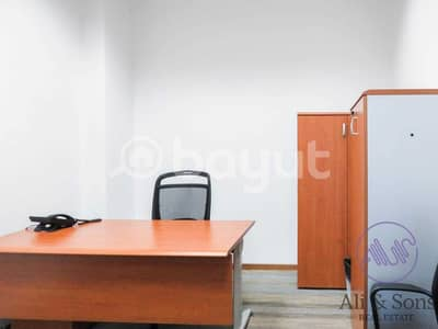 Office for Rent in Umm Al Nar, Abu Dhabi - Office for rent at Ali & Sons Business Centre