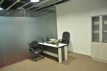 مکتب  للايجار في الكرامة، دبي - Individual Office for AED 15000