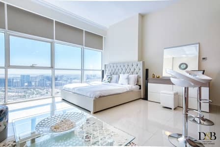 Studio for Rent in Jumeirah Village Circle (JVC), Dubai - Lovely Cozy Studio with Panoramic View in JVC