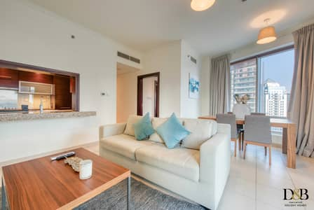 1 Bedroom Apartment for Rent in Downtown Dubai, Dubai - Lovely  One Bedroom with balcony  in the Heart of Downtown