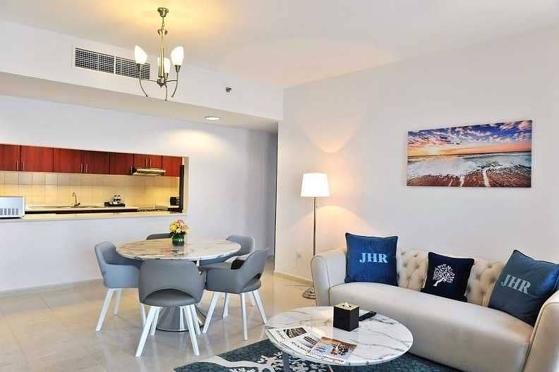 Stunning 1 Bedroom Fully Furnished Garden View- Non commissionable