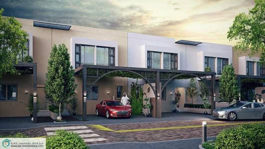 3 Bedroom Villa for Sale in Sharjah Sustainable City, Sharjah - Free hold luxury villa in the best location in Sharjah with 130,000 down payment and easy payment plan
