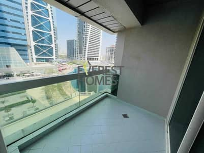 1 Bedroom Flat for Rent in Jumeirah Lake Towers (JLT), Dubai - AMAZING HUGE 1 BEDROOM FRONT OF THE METRO STATION IN THE BEST BUILDING JLT