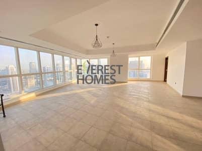 3 Bedroom Flat for Rent in Dubai Marina, Dubai - High Floor | Free A/C |Sea and Marina View | 2 Parking