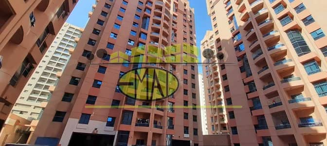 1 Bedroom Flat for Rent in Al Nuaimiya, Ajman - Naimiyah Towers: 1 Bed Hall (2 Washrooms) 1019 sqft Spacious