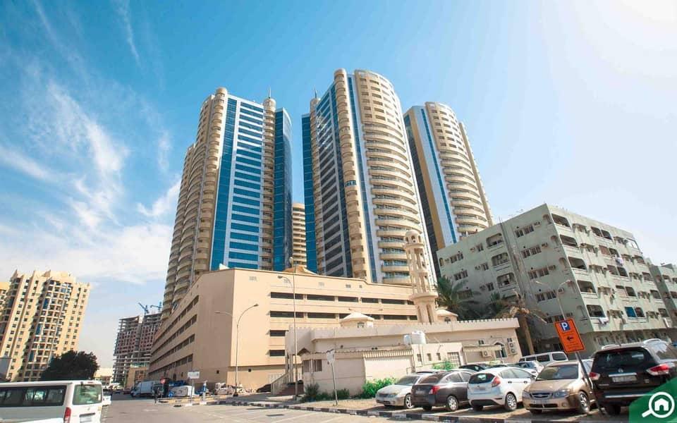 Horizon Towers | Big Studio | Full Open View | 630 sqft | Hot Deal