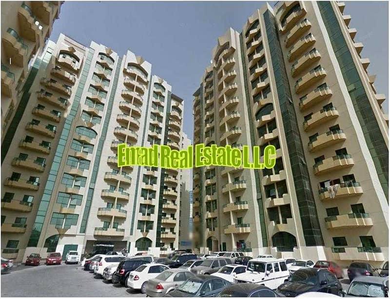 Rashidiya Towers: Balcony 2 Bed Hall 1566 sqft Luxurious and Spacious