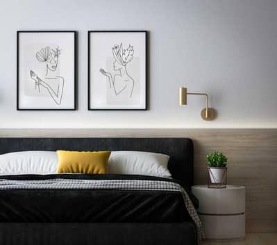 1 Bedroom Apartment for Sale in Johar, Umm Al Quwain - Full Sea View One Bedroom Unfurnished