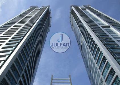 مکتب  للبيع في دفن النخیل، رأس الخيمة - Mangrove View Office For Sale In Julphar Tower.