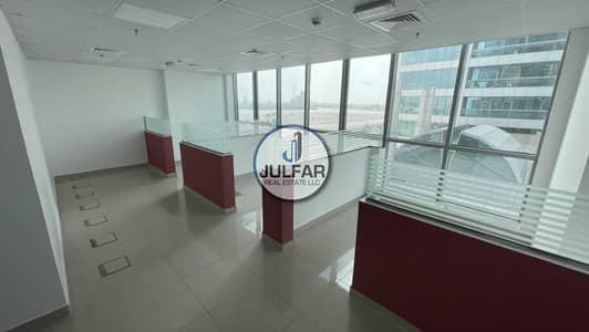مکتب  للايجار في دفن النخیل، رأس الخيمة -  BIG Office Space  For Rent Julphar Towers