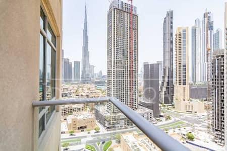 شقة 2 غرفة نوم للايجار في وسط مدينة دبي، دبي - High Floor   Spacious   Burj Khalifa Pool Canal Views