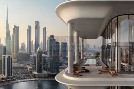 4 Bedroom Penthouse for Sale in Business Bay, Dubai - Shell N Core   Luxury 4 BR   Super Penthouse Duplex