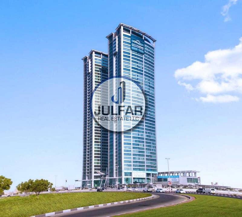 2 Shell & Core Offices FOR RENT Julphar Tower RAK.