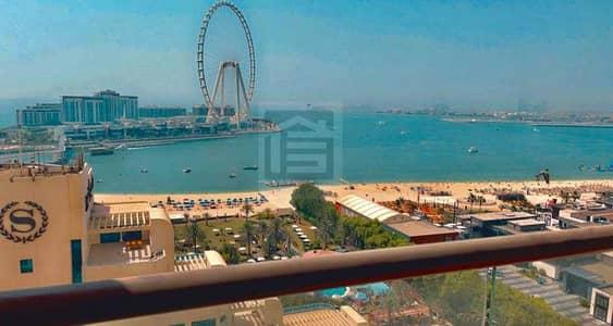 فلیٹ 2 غرفة نوم للبيع في جميرا بيتش ريزيدنس، دبي - FULL SEA VIEW l FURNISHED l BEST PRICE l FOR SALE