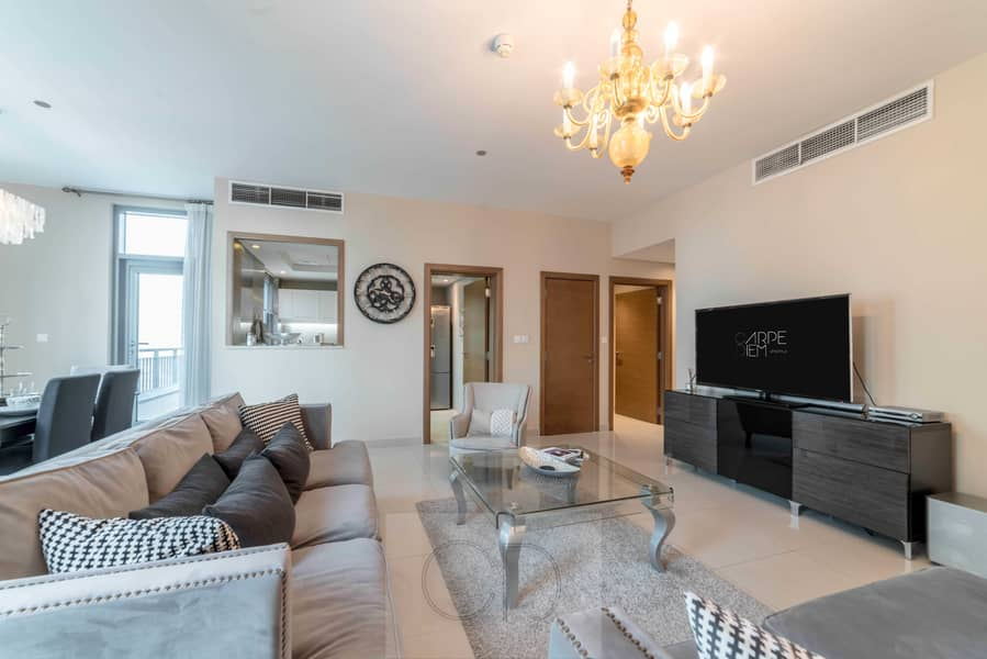 2 Luxurious Two-Bedroom with Fountain View