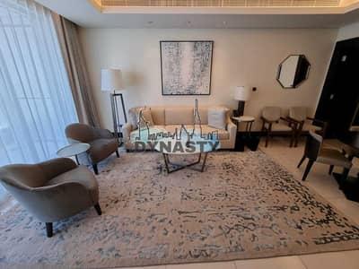 شقة فندقية 1 غرفة نوم للايجار في وسط مدينة دبي، دبي - Luxurious 1 BR |All Fees Included | Amazing View