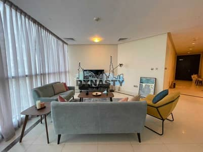 شقة 3 غرف نوم للايجار في دبي مارينا، دبي - Elegant 3 BR | Luxuriously Furnished | Amazing View
