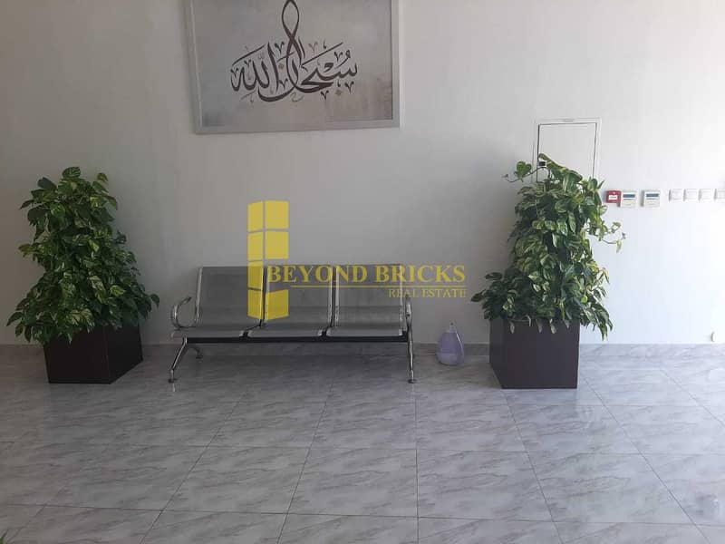 17 Elegant Fitted Office | Free Dewa | Prime Location  | IMPZ