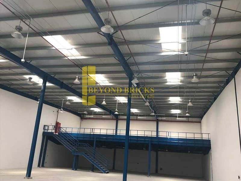 Fully Secured Warehouse with Pantry and Toilet