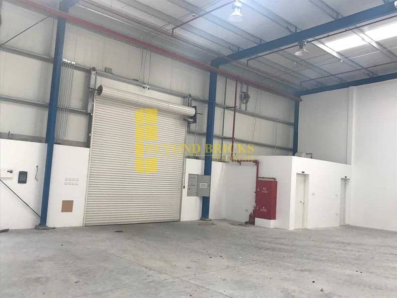 2 Huge and Fully Secured Warehouse with Mezzanine Area