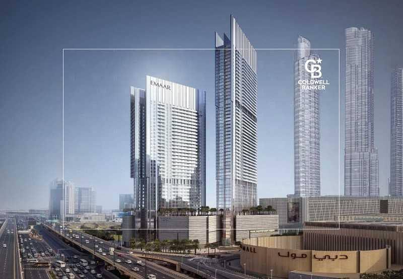 2 High Floor | Burj Khalifa and Dubai Mall Views