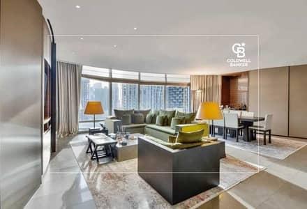 شقة 2 غرفة نوم للبيع في وسط مدينة دبي، دبي - Refurbished 2BR Armani Residence | Burj Khalifa