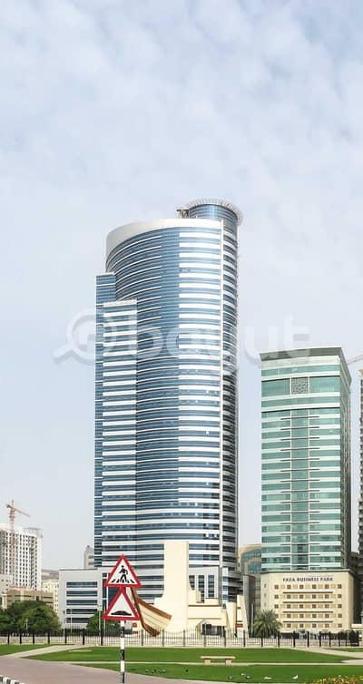 مکتب  للايجار في المجاز، الشارقة - مکتب في برج بزنس المجاز 2 المجاز 90000 درهم - 4439688