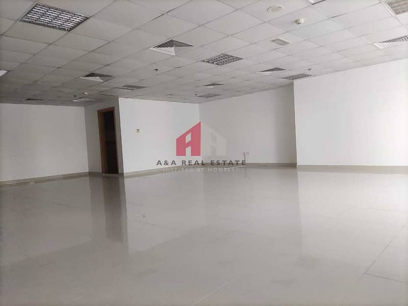 Lake View unfurnished Office for Rent in Fortune Tower