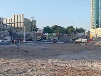 ارض تجارية  للبيع في الراشدية، عجمان - اراضي تجارية للبيع في شارع الشيخ خليفة جسر غلفا