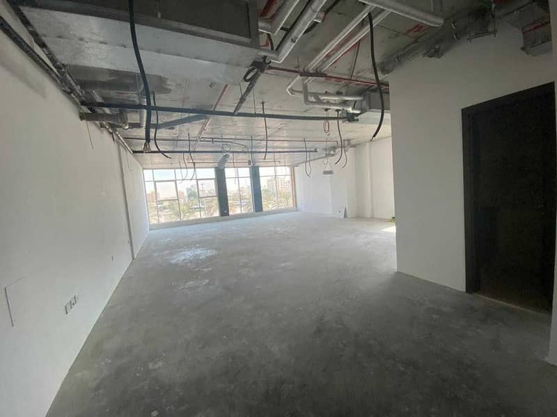 2 New Spacious offices with different views and sizes
