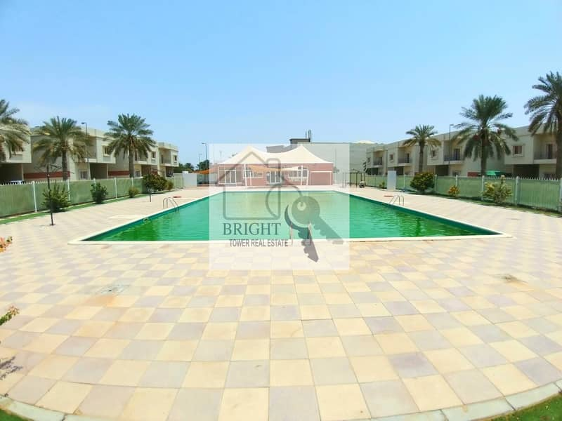 Amazing 4Bhk Duplex Compound Villa With Pool & Gym For Rent Markhaniya 80K