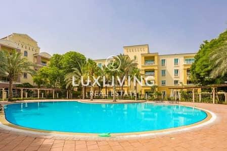فلیٹ 1 غرفة نوم للبيع في جرين كوميونيتي، دبي - Exclusive - Pool View - Well Maintained