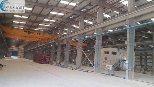 مستودع  للايجار في المفرق المنطقة الصناعية، أبوظبي - مستودع في المفرق المنطقة الصناعية 700000 درهم - 5187326