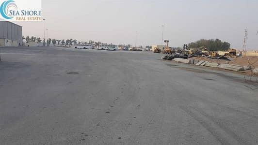 ارض صناعية  للايجار في المفرق المنطقة الصناعية، أبوظبي - Industrial Land for rent in Mafraq with Thawtheeq contract