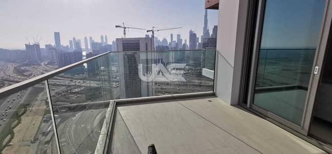 استوديو  للايجار في الخليج التجاري، دبي - Monthly 10k all bills inclusive - Annual 85K - Furnished - Burj Khalifa View