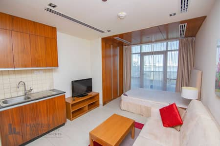 Studio for Rent in Dubai Sports City, Dubai - Woody Interior | Fully Furnished | Large