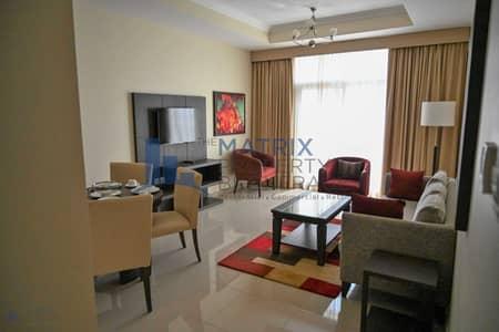 شقة 1 غرفة نوم للايجار في أرجان، دبي - Gorgeous Furnished 1BR in Siraj Tower