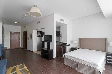 Studio for Rent in Dubai Sports City, Dubai - Golf view - Furnished Studios - Different Layouts