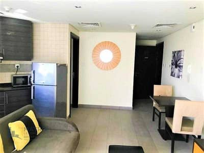 1 Bedroom Apartment for Rent in Dubai Sports City, Dubai - Cozy  Furnished 1 Bedroom  in the The Bridge Tower